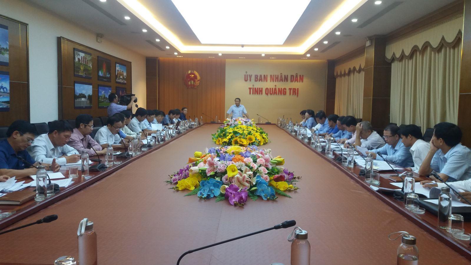 UBND tỉnh tổ chức cuộc họp bàn về xây dựng bảng giá các loại đất giai đoạn 2020-2024