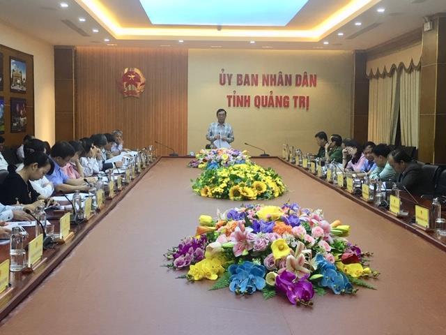 UBND tỉnh lấy ý kiến lần 1 dự thảo Báo cáo chính trị trình Đại hội Đảng bộ tỉnh lần thứ XVII