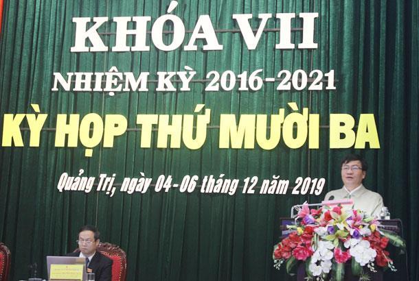 Ngày làm việc thứ 2 kỳ họp thứ 13 HĐND tỉnh khóa VII