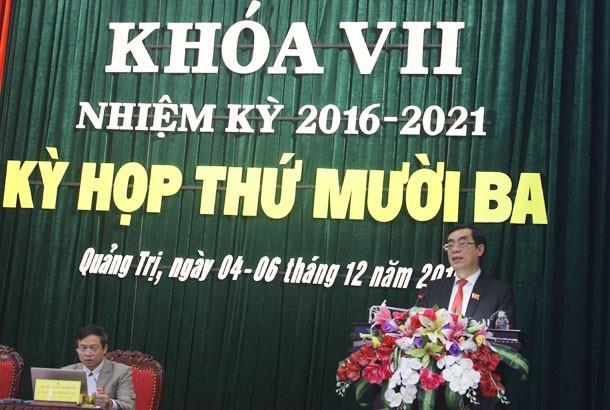 Ngày làm thứ 3 kỳ họp thứ 13 HĐND tỉnh khóa VII