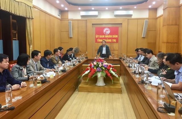 UBND tỉnh làm việc về công tác giải phóng mặt bằng cao tốc đoạn Cam Lộ - La Sơn