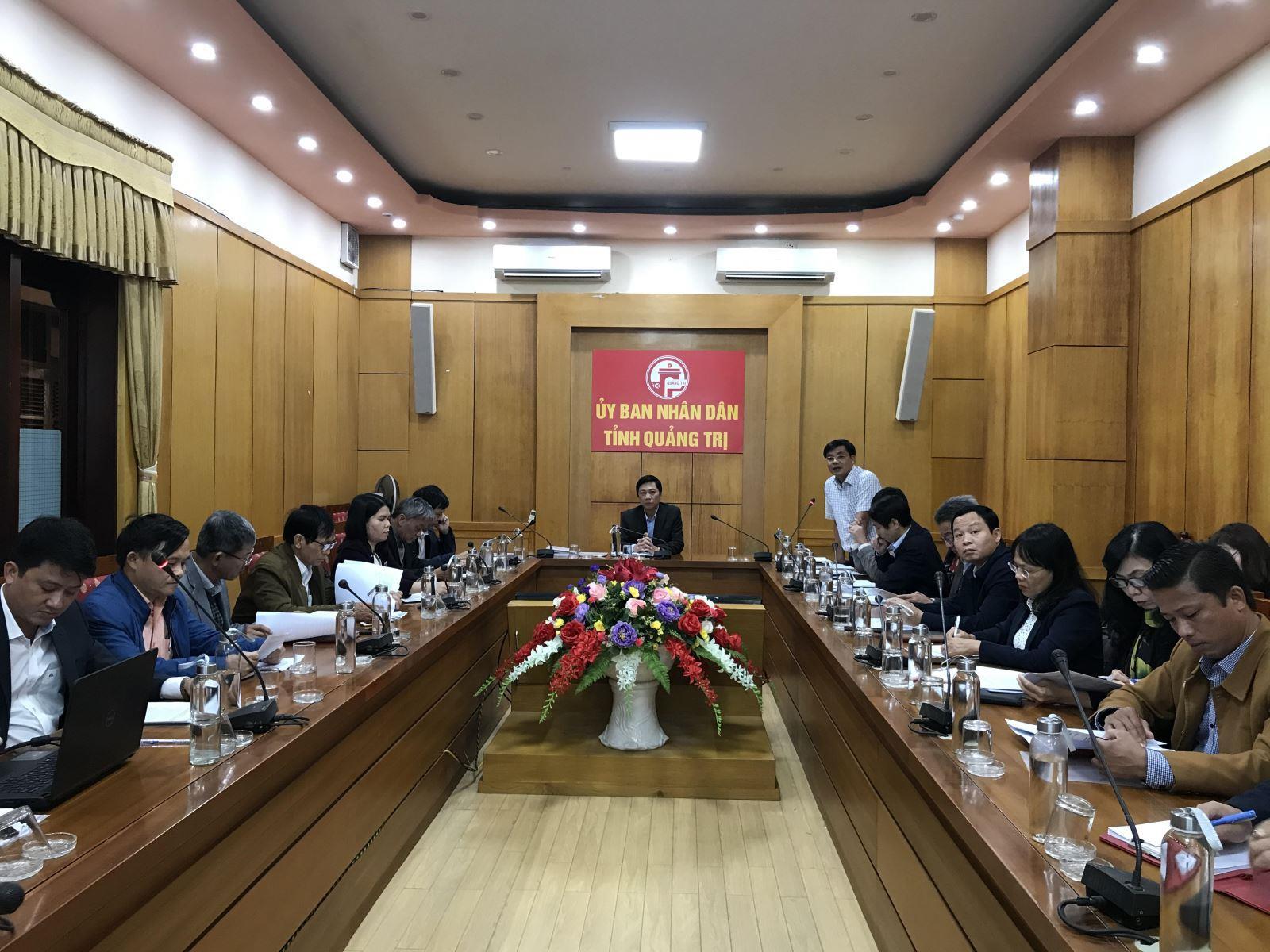 UBND tỉnh nghe báo cáo một số nhiệm vụ trong năm 2020 của ngành Văn hoá, Thể thao và Du lịch