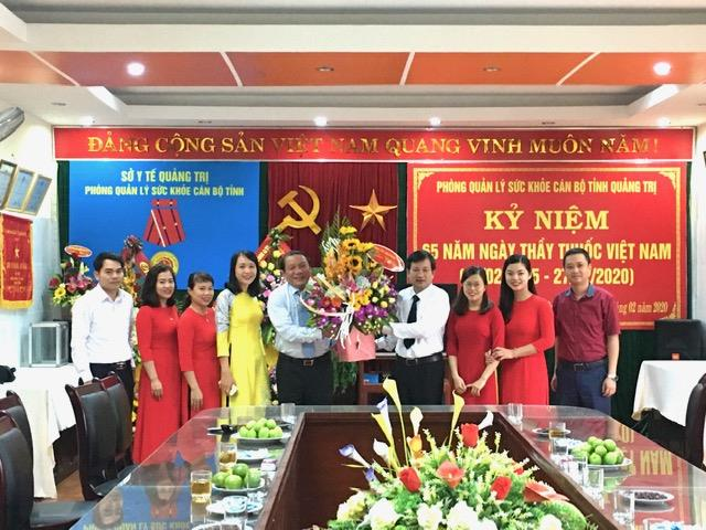 Quảng Trị: Lãnh đạo tỉnh chúc mừng Ngày Thầy thuốc Việt Nam ( 27/2)