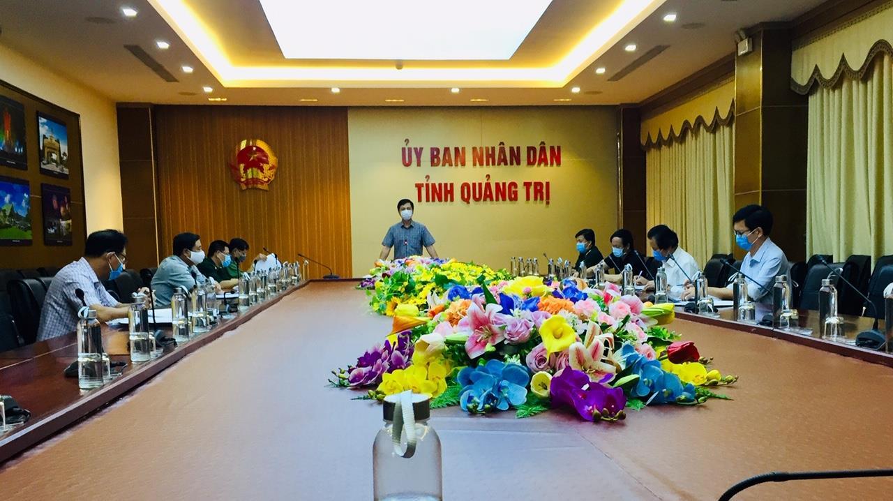 Ban Chỉ đạo phòng, chống dịch COVID - 19 tỉnh họp triển khai thực hiện Chỉ thị 16/ CT- TTg của Thủ tướng Chính phủ
