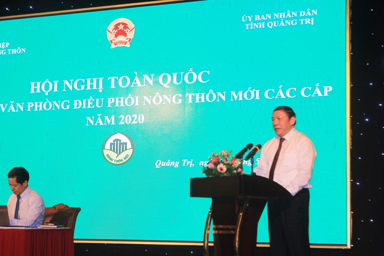 Hội nghị toàn quốc Văn phòng Điều phối nông thôn mới các cấp năm 2020