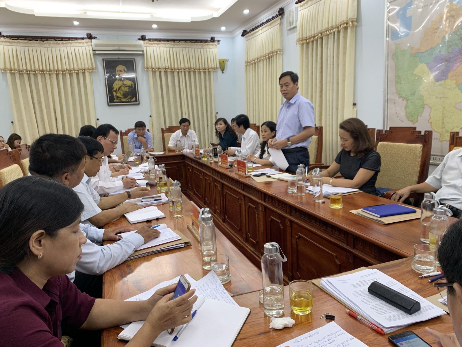 Ban Chỉ đạo Trung ương kiểm tra thực hiện Quyết định 290 - QĐ/TW tại Quảng Trị