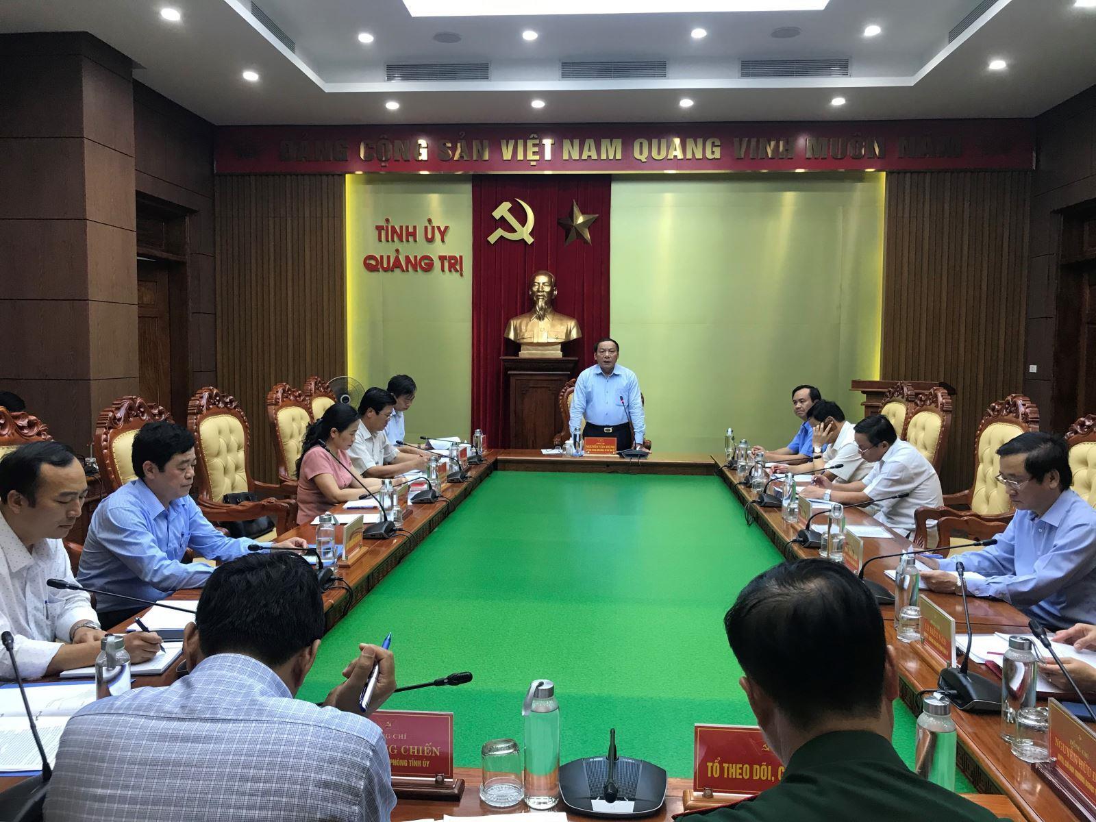 Ban Thường vụ Tỉnh uỷ duyệt nội dung Đại hội Đảng bộ huyện đảo Cồn Cỏ