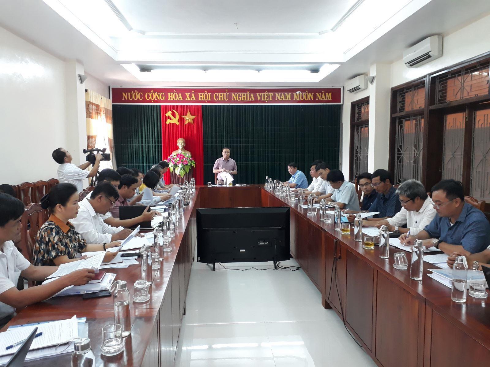 Lãnh đạo UBND tỉnh kiểm tra tiến độ giải phóng mặt bằng đường dây 220 kV Đông Hà – Lao Bảo