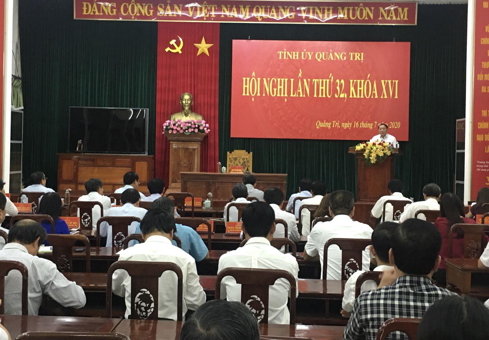 Hội nghị Ban Chấp hành Đảng bộ tỉnh lần thứ 32