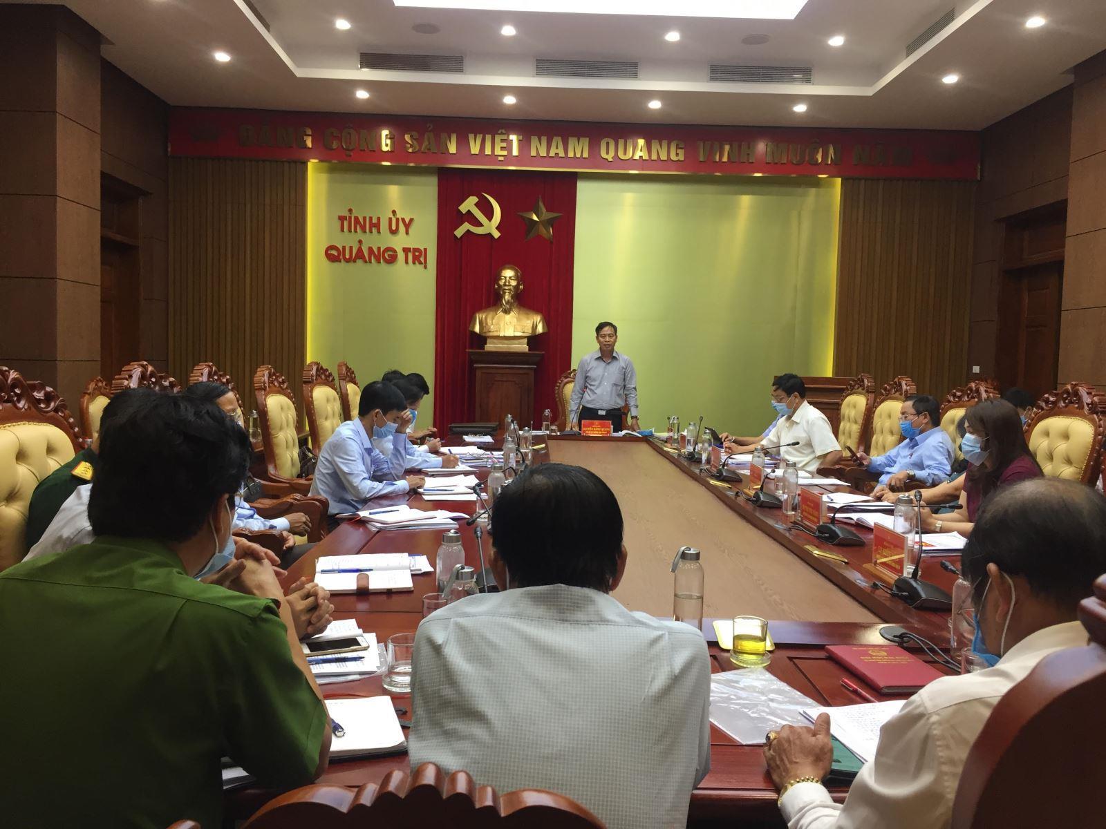 BTV Tỉnh uỷ duyệt Đại hội Đảng bộ huyện Gio Linh lần thứ XVII, nhiệm kỳ 2020-2025