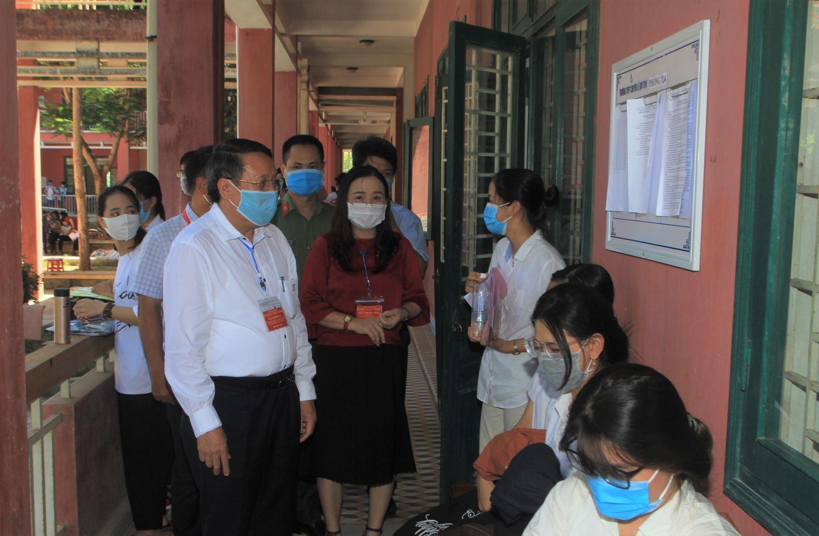 Gần 8000 thí sinh Quảng Trị bước vào kỳ thi tốt nghiệp THPT năm 2020