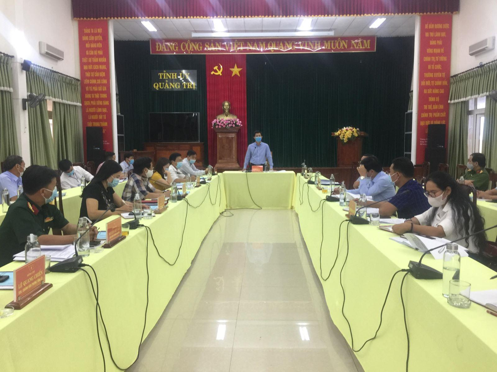 Ban Thường vụ Tỉnh ủy duyệt nội dung Đại hội Đảng bộ huyện Đakrông nhiệm kỳ 2020 - 2025