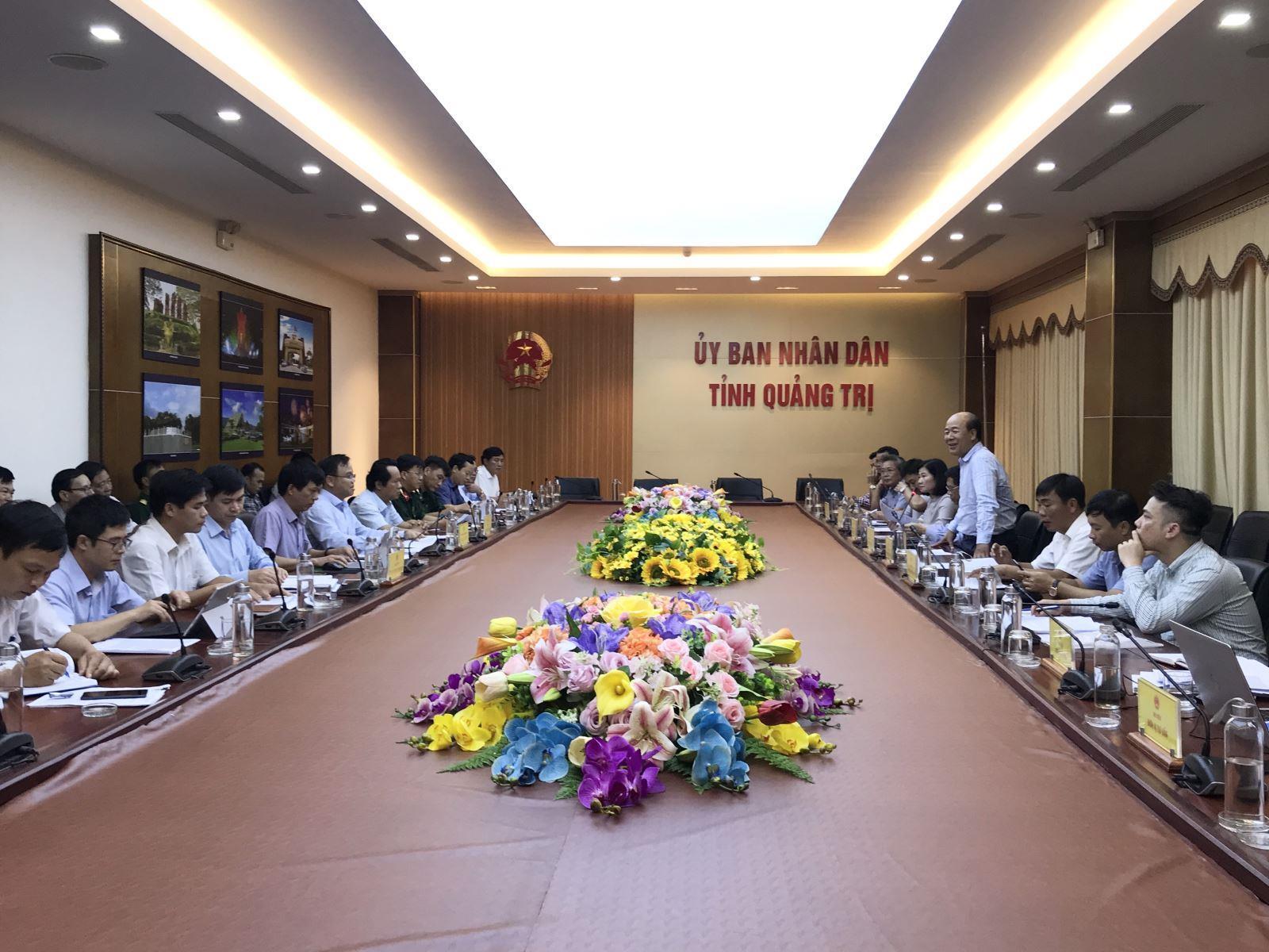 Đoàn công tác Bộ Giao thông và Vận tải làm việc với UBND tỉnh