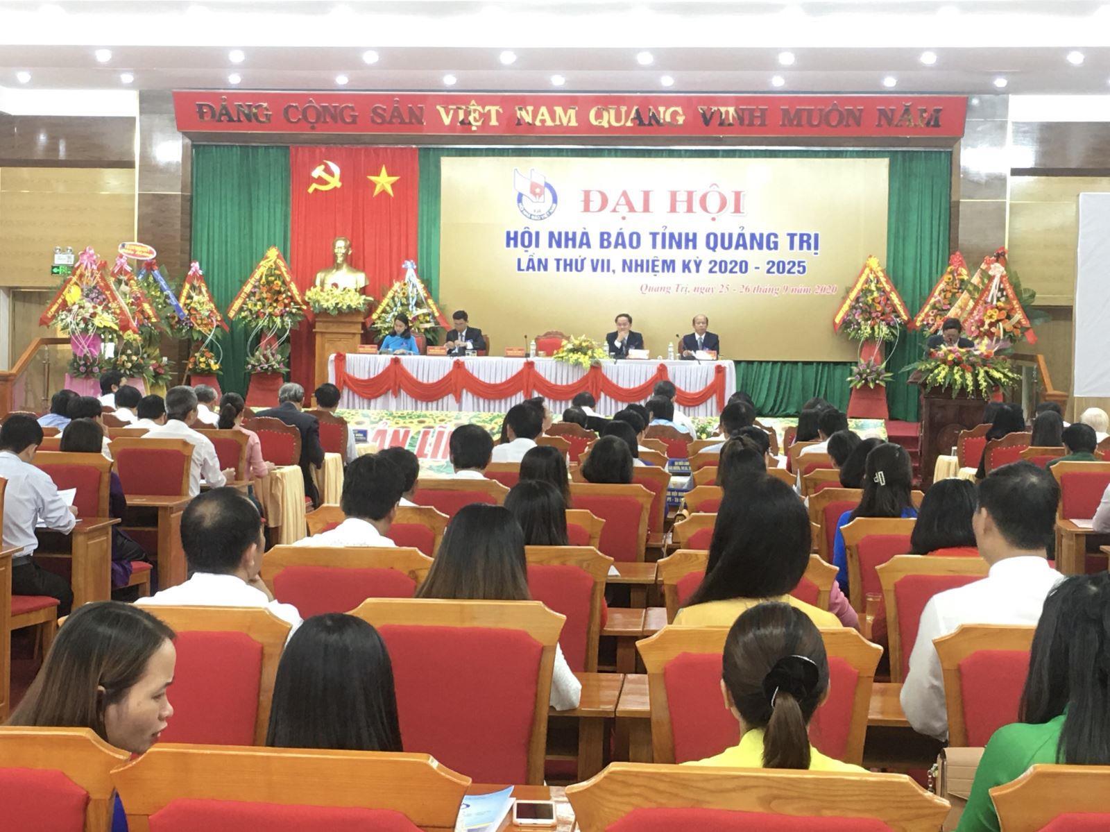 Đại hội Hội Nhà báo tỉnh Quảng Trị lần thứ VII