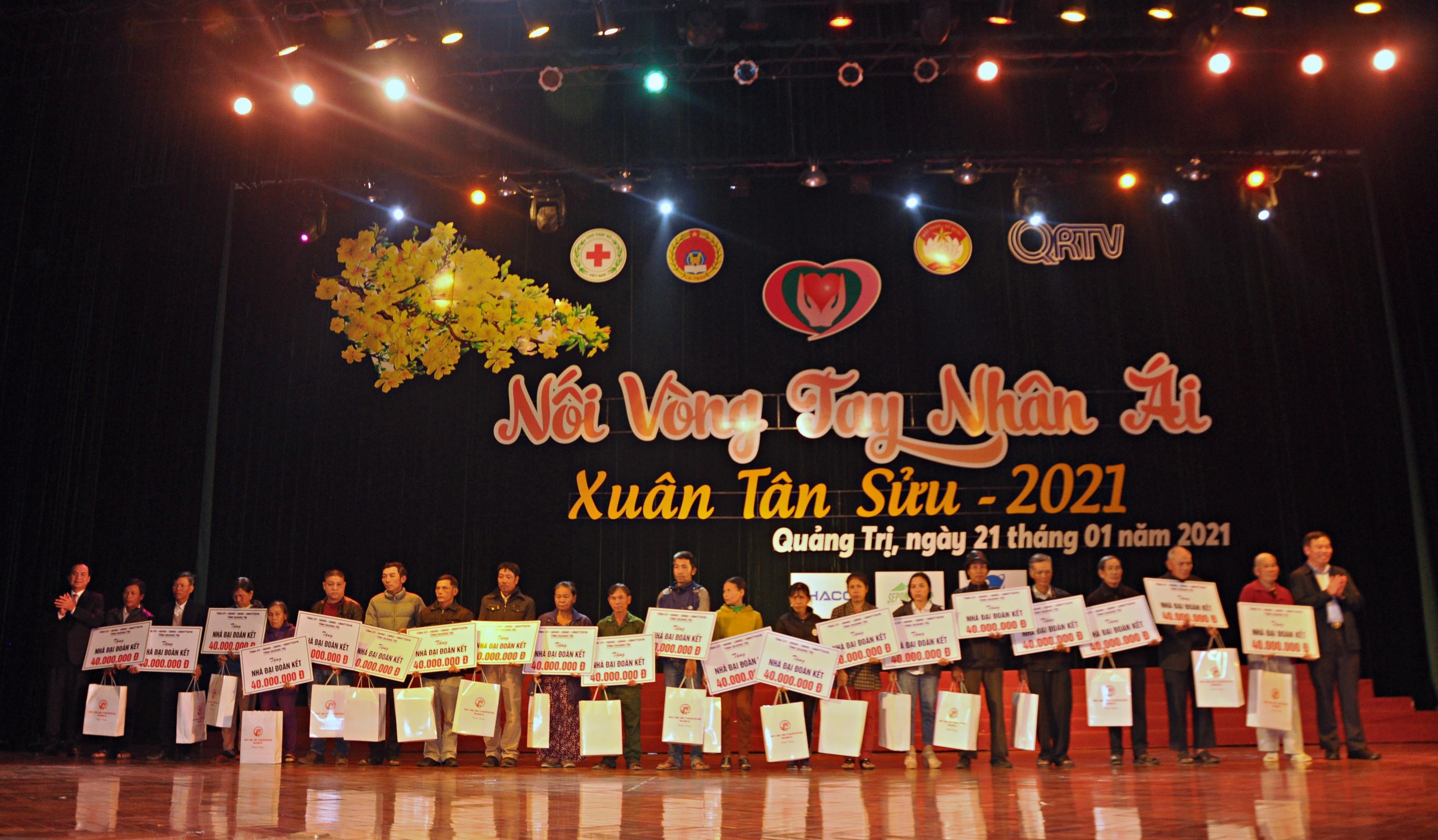 """Hơn 18,4 tỷ đồng ủng hộ chương trình """"Nối vòng tay nhân ái"""" Xuân Tân Sửu 2021"""