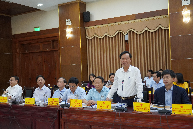 BTV Tỉnh ủy nghe UBND tỉnh và Tập đoàn T&T báo cáo về dự án Cảng hàng không Quảng Trị