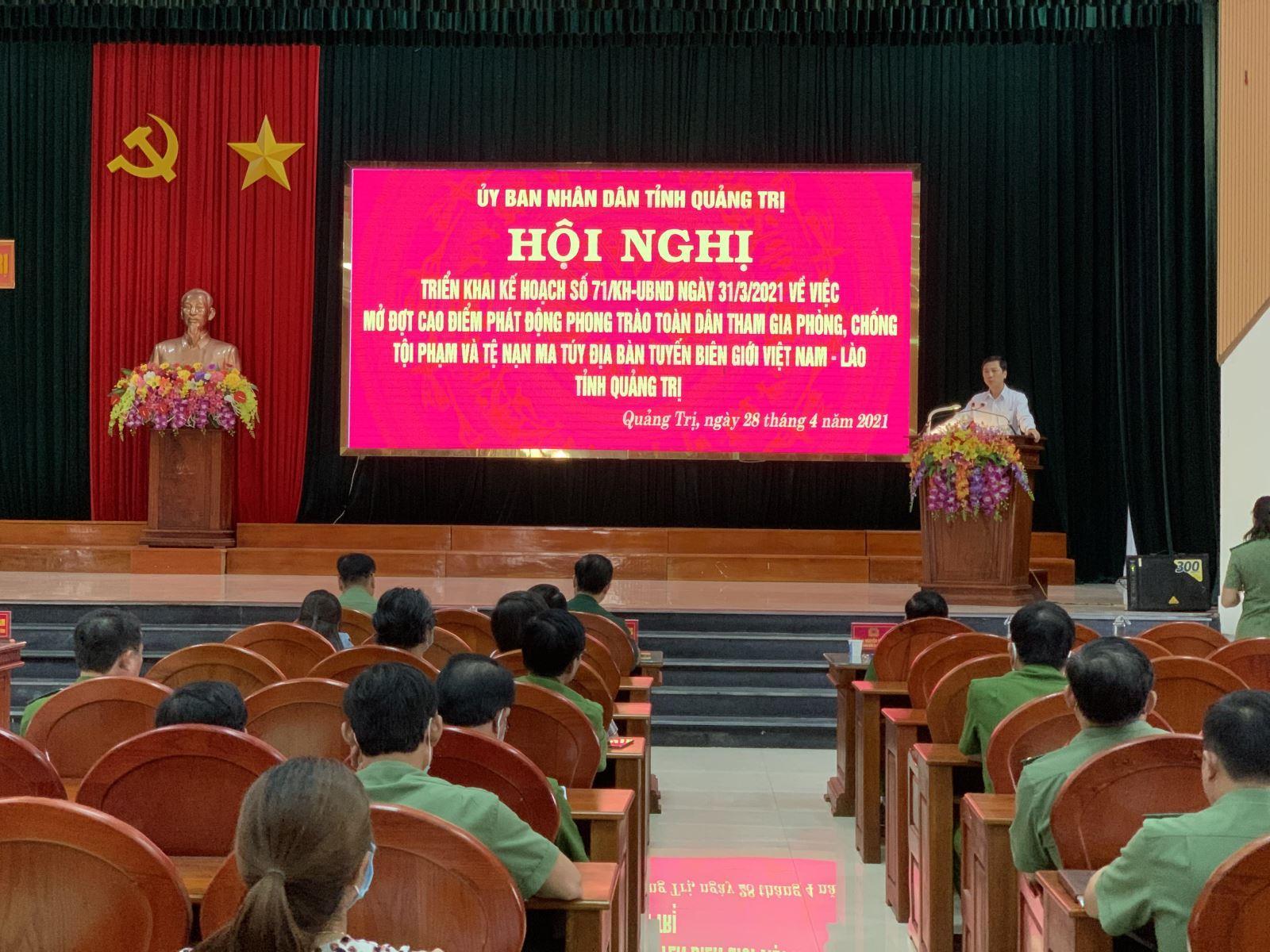 Khai mạc hội nghị lần thứ 16 Ban chấp hành Đảng bộ tỉnh khóa X